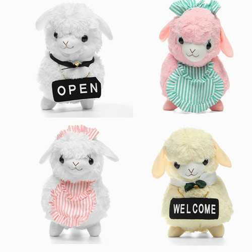 45cm Animal Plush Stuffed Alpaca Housemaid Soft Animal Doll Toy Christmas Gifts Big Size
