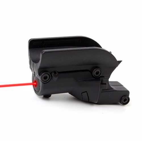 Tactical Compact Red Laser Sight Dot Hang Type Lateral Grooves Laser Aiming for Non-Rail 1911