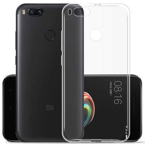 Bakeey Ultra Thin Transparent Soft TPU Protective Case For Xiaomi Mi 5X Mi5x / Xiaomi Mi A1