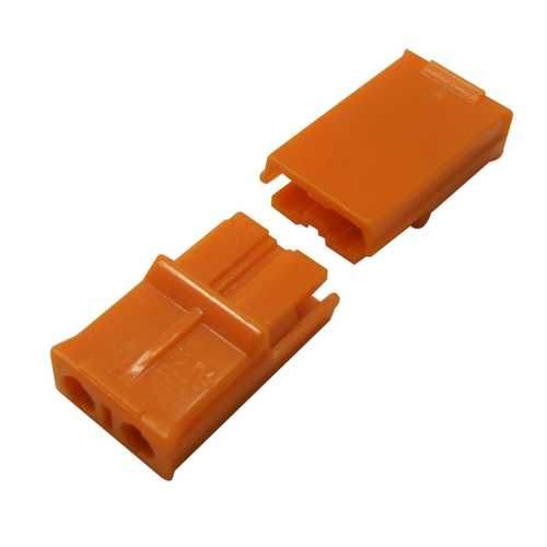 24-16 AWG 2 Pin No Welding Wire Quick Connector Terminal Block Easy Fit for LED Strip