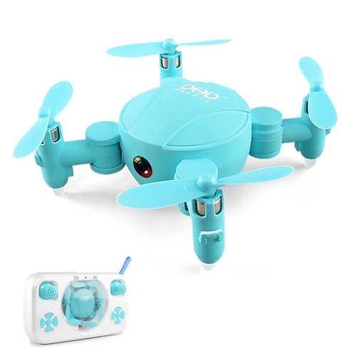 DHD D4 Mini Pocket Drone WIFI FPV With 720P Camera Altitude Mode RC Drone Quadcopter