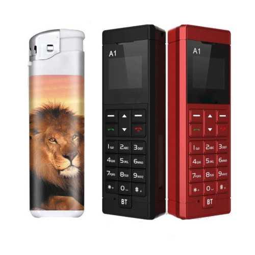 Decwin A 220mAh 0.66 Inch Smart Bluetooth Dialer Music Earphone Mini Card Phone