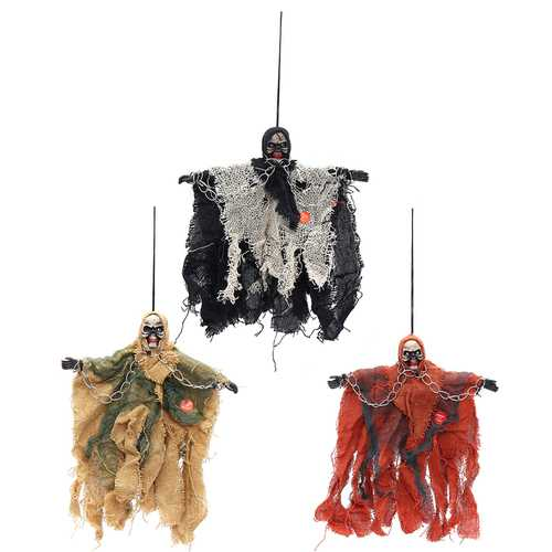 Halloween Party Home Decoration Hanging Ghosts Toys Horror Scene Props Kids Children Gift