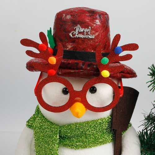 Christmas Reindeer Glasses Antlers Ear Glasses Christmas Party Accessories Deer Glasses Decoration