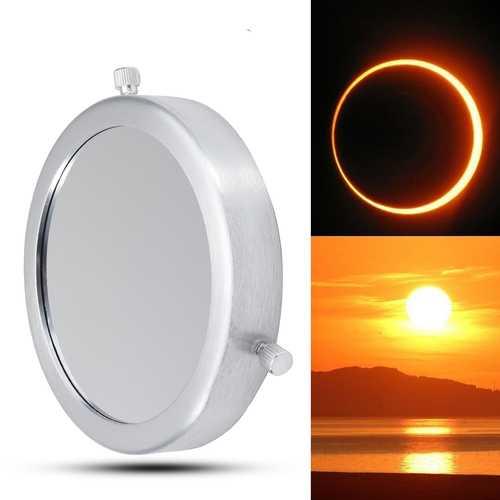 110-132mm Solar Filter Lens Baader Film Metal Cover For Astronomical Telescope