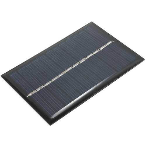 10PCS 6PCS 6V 100mA 0.6W Polycrystalline Mini Epoxy Solar Panel Photovoltaic Panel