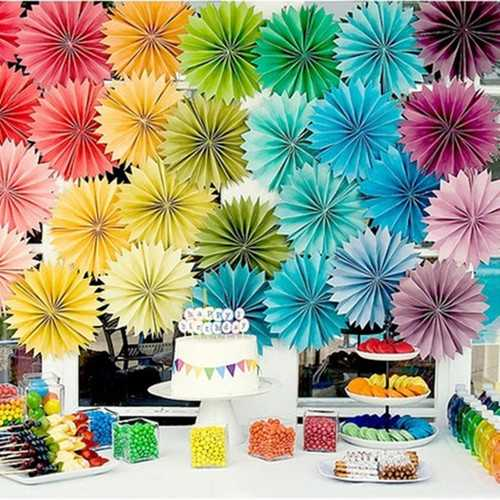 Christmas 12 Colors DIY Decorations Flower Comb Ball Party Pendant & Drop Ornaments Supplies