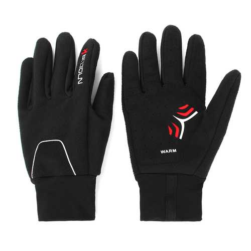 Motorcycle Gloves Winter Warm Waterproof Windproof Protective Gloves For BOODUN