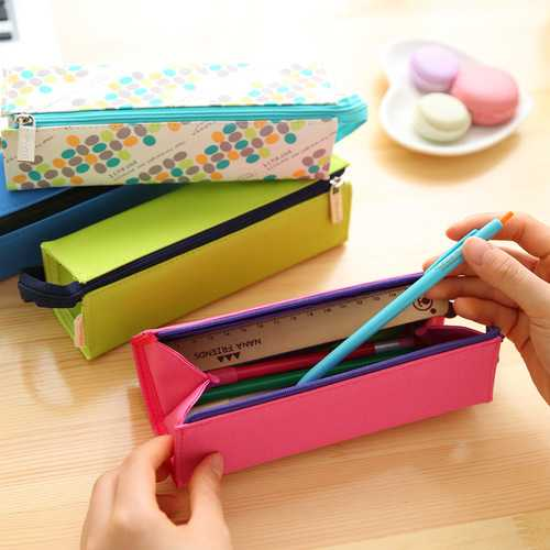 WAM PC-01 Pencil Case Gift Children Pencil Box Pen Bag Students School Stationery Supplies