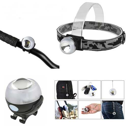 Multi-function Brightness Long-life Rechargeable Portable Outdoor Bikelight Lightweight Headlamp
