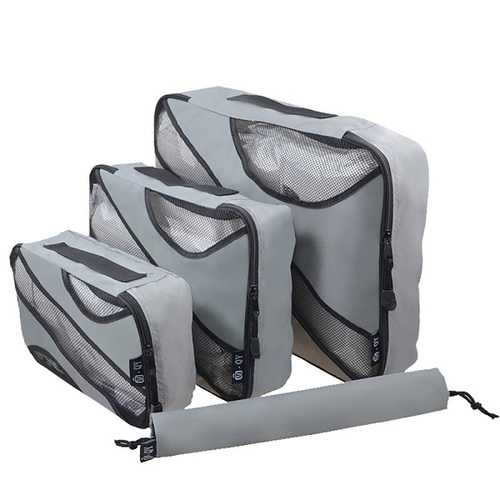 3 Pics Oxford Waterproof Fold Over Storage Bags Travel Bags