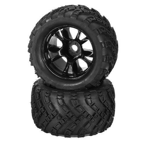 DHK Hobby 8384-001 Wheel Tire Tyre Rim Complete 2pcs 1/8 8384 Zombie 8E RC Car Part