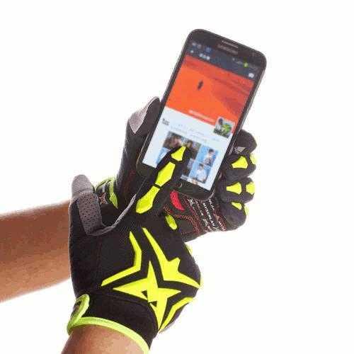 Outdoor Adult Kids Cycling Bike GEL Shockproof Sport Full Finger Ski Gloves