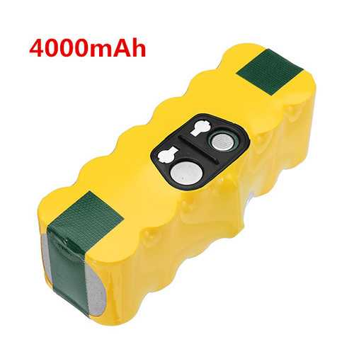 14.4V 4000mAh Ni-MH Replacement Battery Pack for iRobot Roomba
