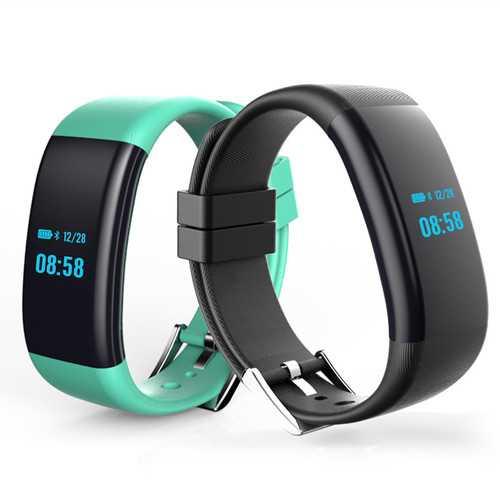 DF30 Blood Pressure Oxygen Heart Rate Monitor Fitness Tracker Pedometer Waterproof Smart Watch