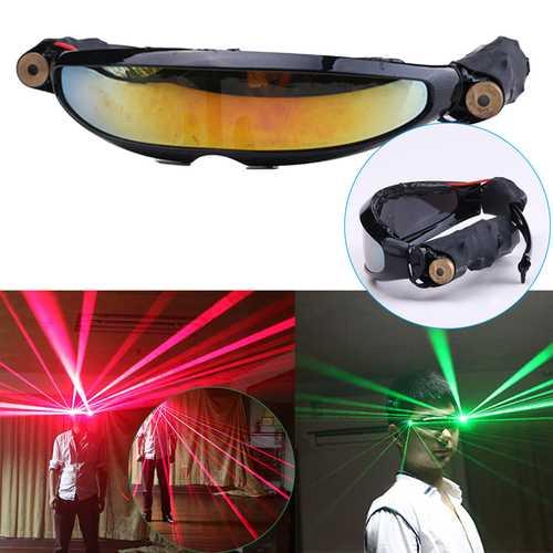 140x40mm Red Laser Glasses Lighting Visible Beam Stage DJ Dancer