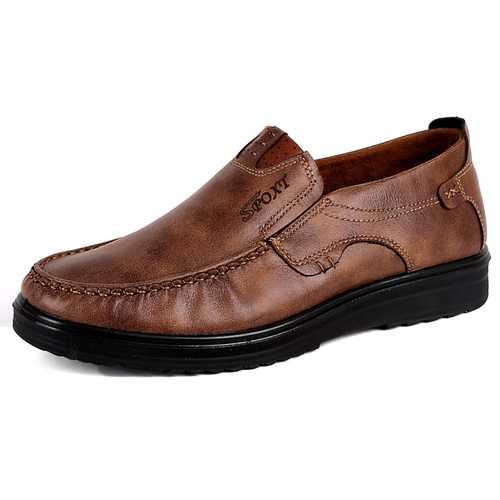 Banggood Leather Shoes Fashion Soft Oxfords