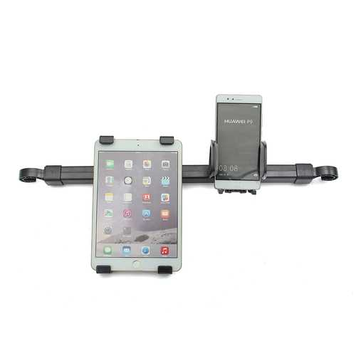 360 Degree Car Headrest Bar Mount for Cellphone Tablets PC