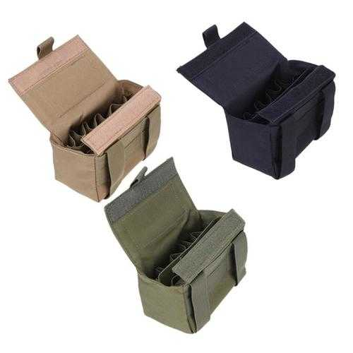 15 Gauge Bullets Package Tactical MOLLE  Hunting Shells Holder Loaded Bags
