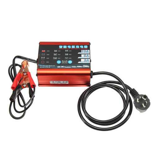 6V/12V Battery Charger 220V Car Motorcycle Smart Vehicle Desulfator Maintainer