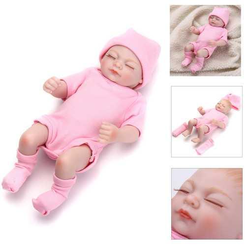 28CM Baby Simulation Doll Soft Child Baby Doll Toy Kids Boy Girl Birthday Gift Emulated Dolls
