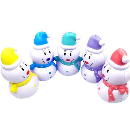 SWEETY Squishy Snowman Christmas Slow Rising Kawaii Squishy 12cm Scented Toys