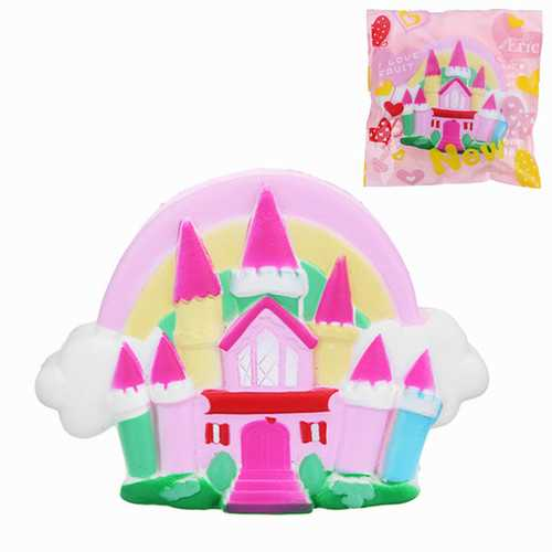 Chameleon Squishy Sweet Castle Slow Rising Toy 16x11x4cm with Original Packing