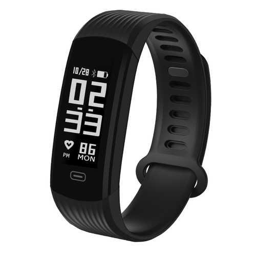 Zeblaze Plug Real-time Heart Rate Sleep Monitor Stopwatch All-day Activity Tracker BT4.0 Smart Watch