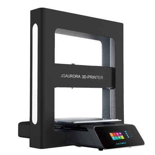 JGAURORA® A5 DIY 3D Printer Kit Support Resume Print & Filament Run-Out Alarm 305*305*320mm Printing Size 1.75mm 0.4mm Nozzle