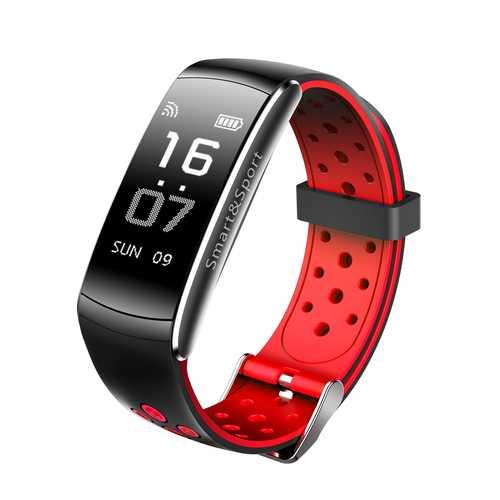 Z11 0.96OLED Real-timeHeart Rate Blood Pressure Oxygen Monitor IP68 SmartBracelet For iphone Samsung