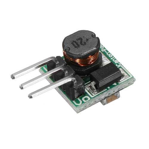 10pcs 0.9-5V To 5V DC-DC Step-Up Power Module Boost Converter Board 1.5V 1.8V 2.5V 3V 3.3V 3.7V 4.2V To 5V 480mA 150KHz