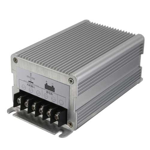 12V 300W/24V 600W Waterproof Aluminium Alloy Wind Generator Charging Controller