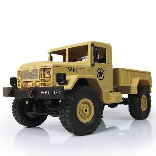 WPL B1 DIY Car Kit 1/16 2.4G 4WD RC Crawler Off Road Car Without Electronic Parts ATR