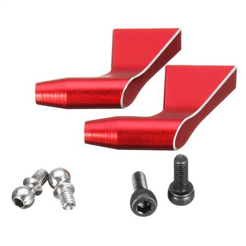 ALZRC Devil 505 FAST RC Helicopter Parts Main Rotor Holder Arm Set Red