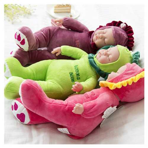 35cm Lifelike Reborn Baby Dolls Soft Newborn Girl boy Silicone Realistic Vinyl
