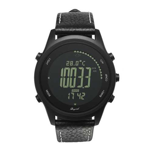 S3 Ultra Thin Outdoor Sport Watch Pedometer Compass Barometer Digital Watch