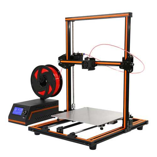 Anet® E12 3D Printer DIY Kit 300*300*400mm Printing Size Aluminium Alloy Frame 1.75mm 0.4mm Nozzle