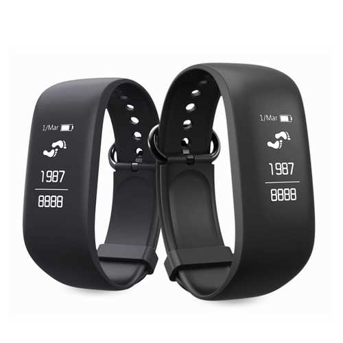 0.96inch OLED Heart Rate Tracker Pedometer Sport Smart Bracelet For  iphone X 8 Samsung S8 Xiaomi 6