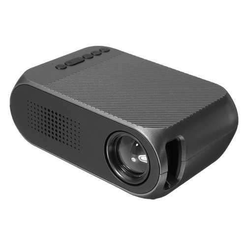 YG-320 Mini 400Lumens 320*240 LED Portable Projector Home Theater UK/AU/EU/US Plug