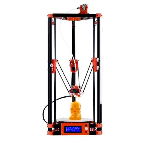 FLSUN® Delta Kossel 3D Printer 180*315mm Printing Size With Auto-leveling Dual Cooling Fans Heated Bed 1.75mm 0.4mm Nozzle