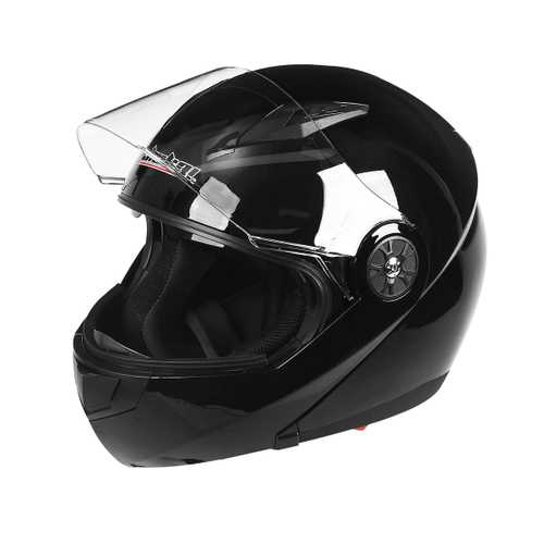 Motorcycle Helmet Full Face Double Lens M L XL