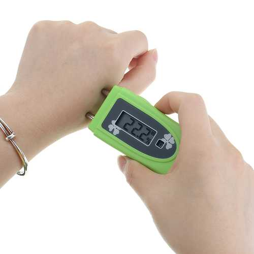 2 in 1 UV Index Tester Ultraviolet Intensity Tester UV Detector Skin Moisture Monitor