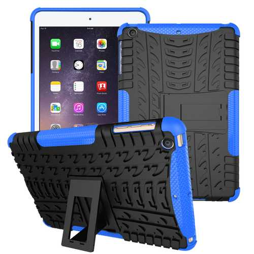 Heavy Duty Heat Dissipation Kickstand Textured Case For iPad Mini 1/2/3