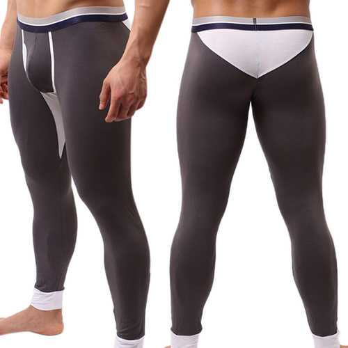 Mens Casual Long Johns Winter Outdoor Thermal Underwear