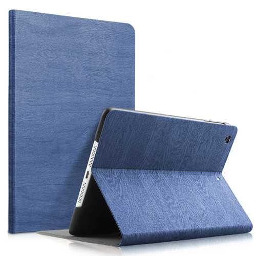Wood Grain Pattern Smart Sleep Kickstand Tablet Case For iPad Air/Air 2/New iPad 2017/iPad 2018