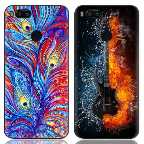 Bakeey Printing Anti-Scratch Soft TPU Back Protective Case For Xiaomi Mi A1/ Xiaomi Mi 5X