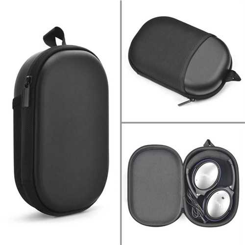 Waterproof Bump Resistance PU Leather Headphone Storage Bag Box for BOSE QC15 QC25 QC35