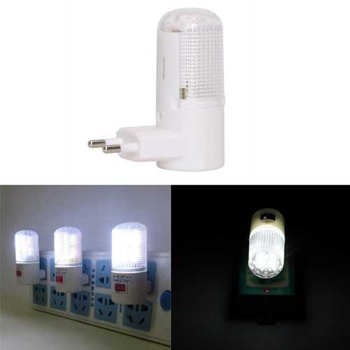 0.5W LED Night Light Plug-in Wall Light Energy Saving for Home Bedside AC220V