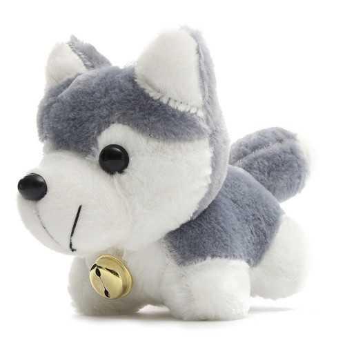 26cm 10.24'' Husky Dog Cartoon Doll Stuffed Plush Kids Children Toy Gift House Decor