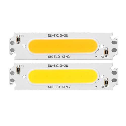 2W 160LM White/Warm White COB LED Light Chip for DIY Flood Light DC12V